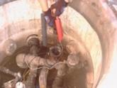 Realización de pruebas de estanqueidad sistema detecta tanques y tuberías en centros Petrocat.