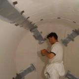 """Aplicación de Sistema Doble Pared Homologado TTH-GNS Ver. 7 para la conversión de tanques de simple a doble pared; Sistema """"Vacuum System""""."""